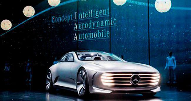 Geleceğin otomobili Alman Mercedes'ten