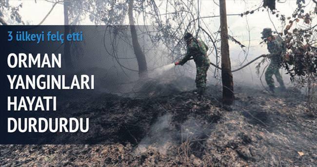 Orman yangınları 3 ülkeyi felç etti