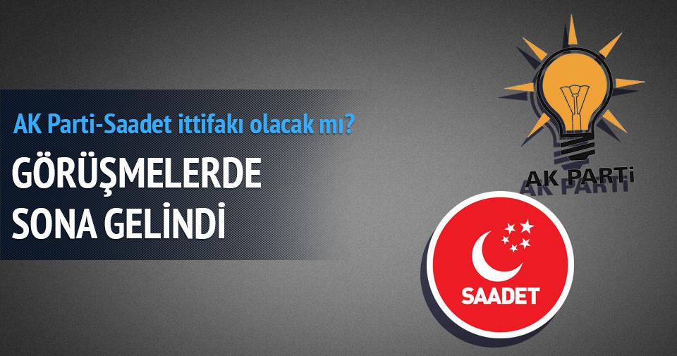 Saadet Partisi, AK Parti ittifakı için kararını verdi!