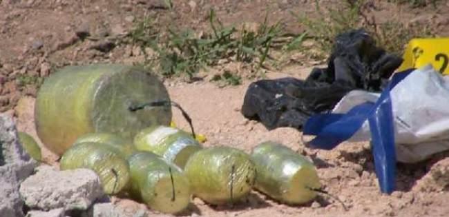 Viranşehir'de çöpte bomba bulundu