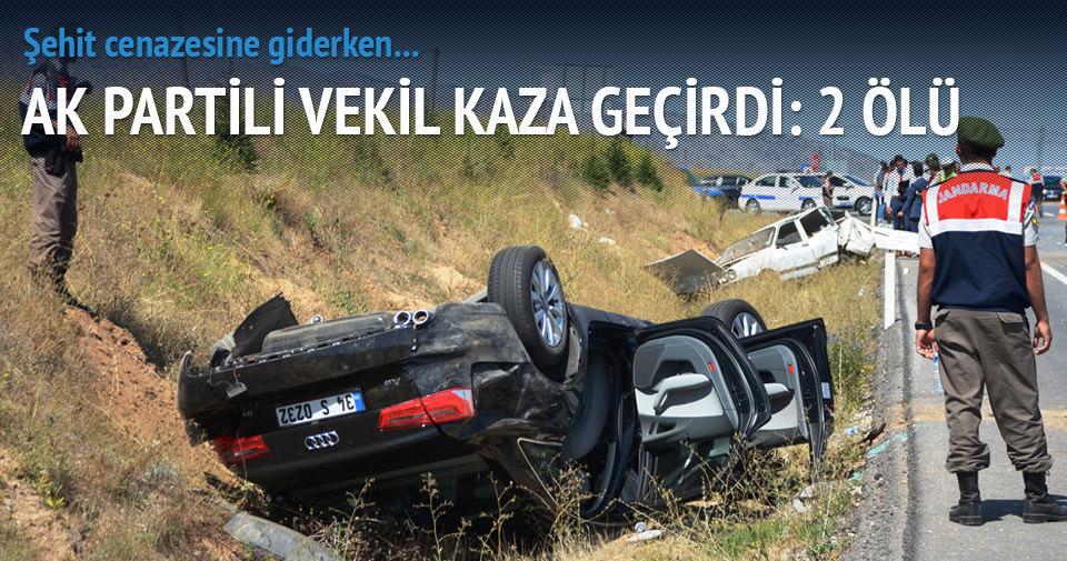 AK Parti Isparta Milletvekili Süreyya Sadi Bilgiç kaza geçirdi