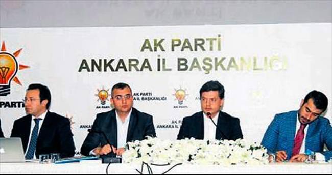 AK Parti'de seçim çalışması tam gaz