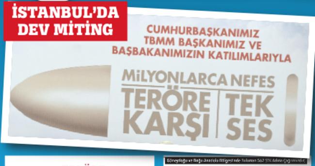 Her kesimden PKK'ya tepki!