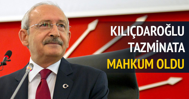 Kemal Kılıçdaroğlu Zarrab'a 5 bin lira ödeyecek