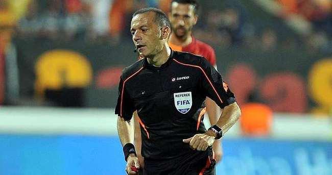 Trabzonspor - Galatasaray maçı Cüneyt Çakır'ın