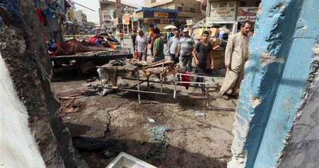 Bağdat'ta intihar saldırısı... Çok sayıda ölü var