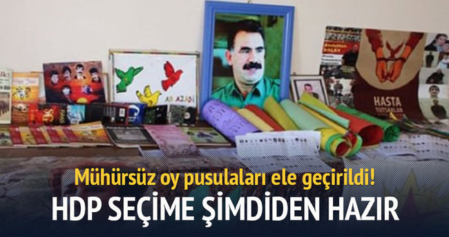 HDP binasında mühürsüz oy pusulaları çıktı