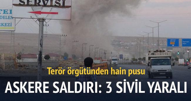 Bitlis'te askeri araca mayınlı saldırı: 3 yaralı