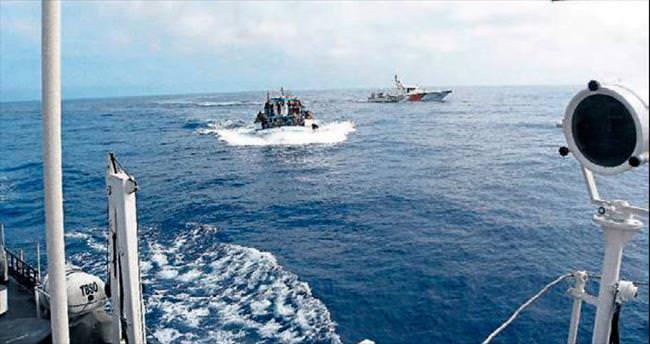 260 göçmen yakalandı