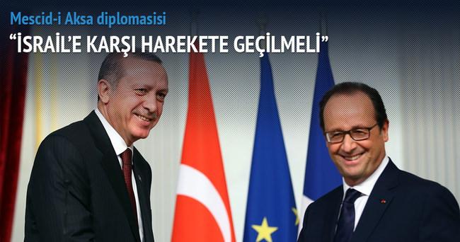 Telefonda Mescid-i Aksa diplomasisi