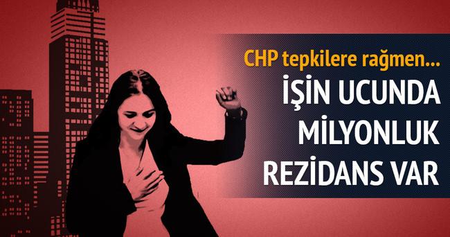 CHP Gamze İlgezdi'ye sahip çıktı ve tekrar aday gösterdi