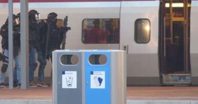 Thalys treninde silah paniği