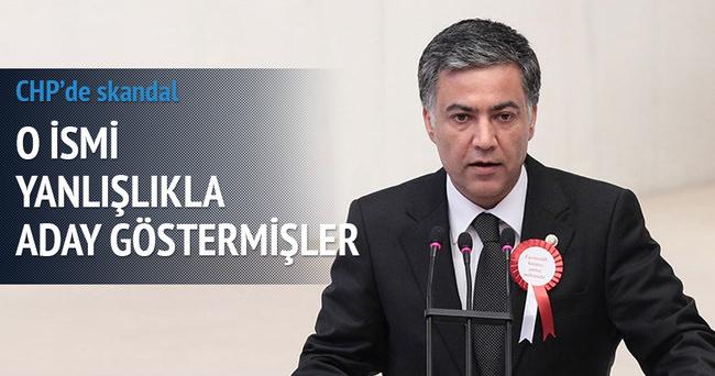 CHP'de aday skandalı
