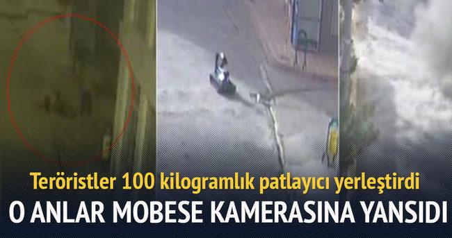 Dargeçit'te PKK'lıların faaliyetleri MOBESE kamerasınca kaydedildi