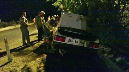 Bozyazı'da Trafik Kazası; 1 Yaralı