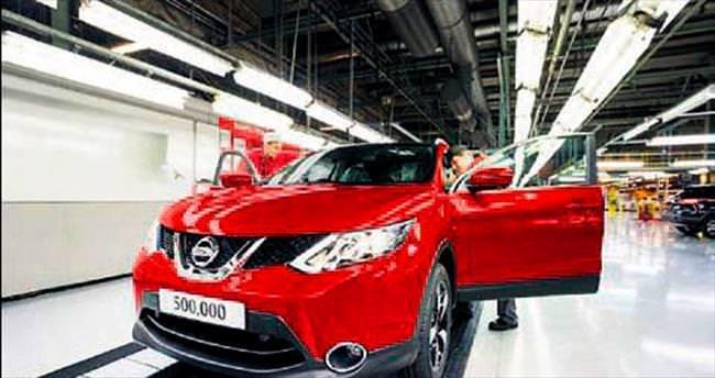 Nissan İngiltere tarihine geçti