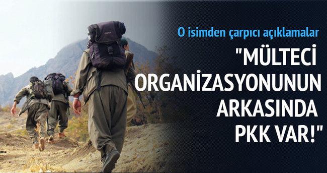 Mülteci organizasyonunun arkasında PKK var!