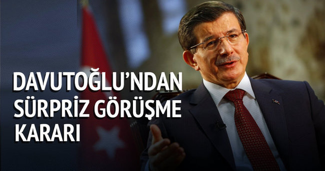Başbakan Davutoğlu Suriyeli mültecilerin temsilcileri ile görüşecek
