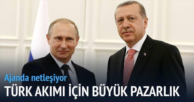 Türk Akımı için büyük pazarlık