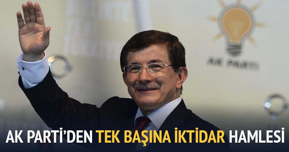 AK Parti'den tek başına iktidar hamlesi