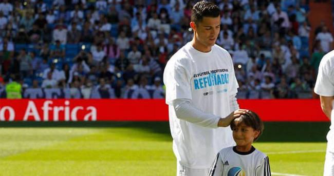 Ronaldo'dan insanlık dersi!