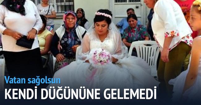 Hakkari'deki uzman çavuş kendi düğününe gelemedi!