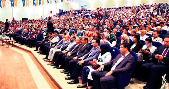 Ankara AK Parti'den gövde gösterisi