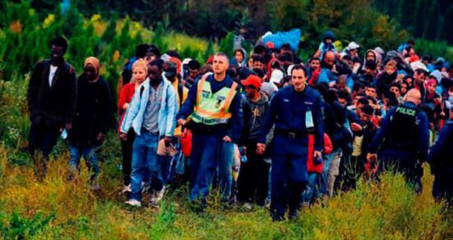35 milyon göçmen Avrupa'ya gelecek