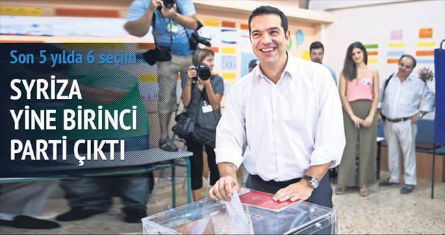 Yunanistan'da zafer yine Çipras'ın