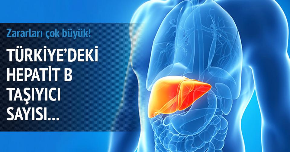 Türkiye' de 3,5 milyon hepatit B taşıyıcısı var