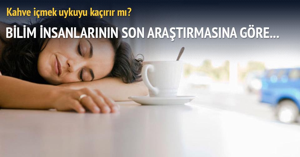 Kahve içmek gerçekten uykusuz bırakır mı?