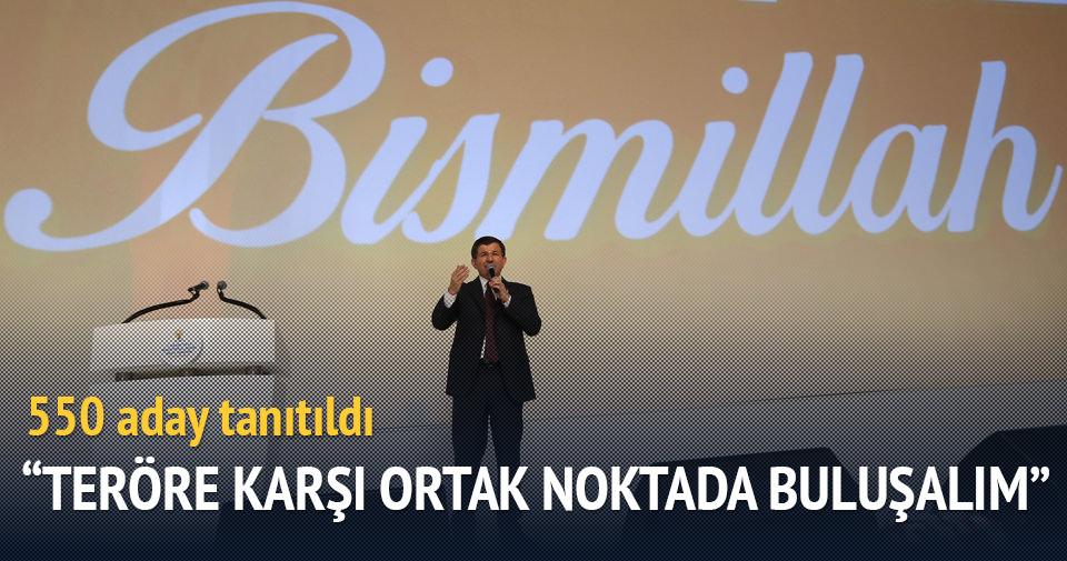AK Parti'de adaylar tanıtıldı