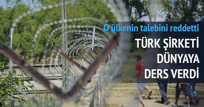Türk şirketinden insanlık örneği