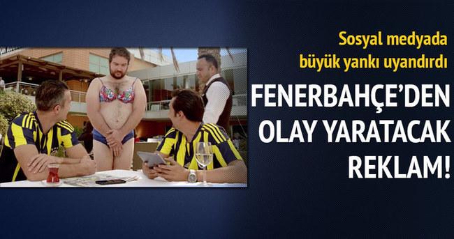 Fenerbahçe'den olay yaratacak reklam!