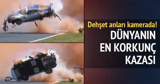 Korkunç kaza! Pedro Piquet bu araçtan sağ çıktı