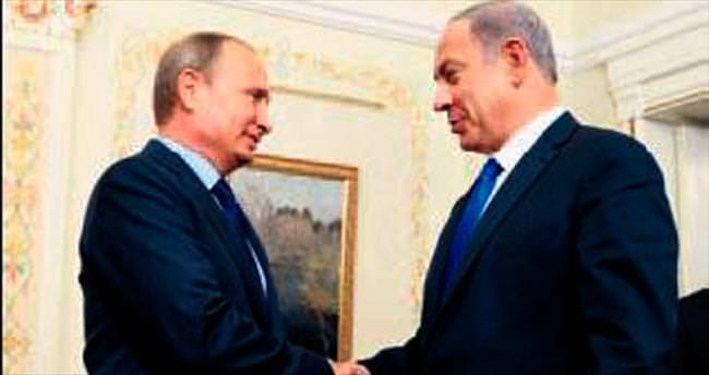 Netanyahu Moskova'ya gitti