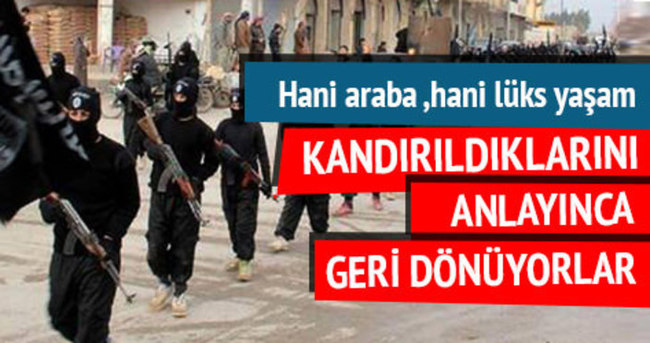 IŞİD'in lüks vaadi tutmadı!