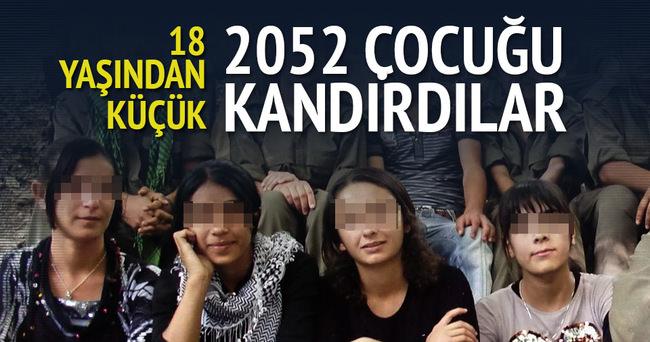 PKK 2052 çocuğu kandırıp dağa kaçırdı