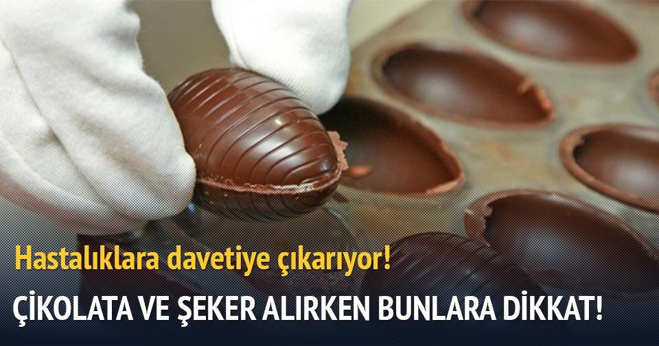 Çikolata ve şekerleme alırken bu özelliklere dikkat!