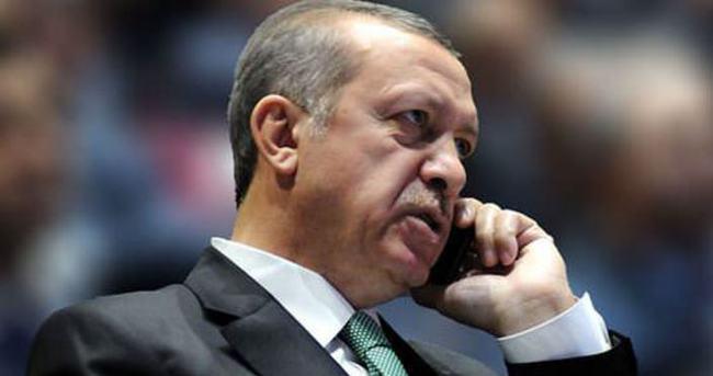 Erdoğan'dan sürpriz telefon!
