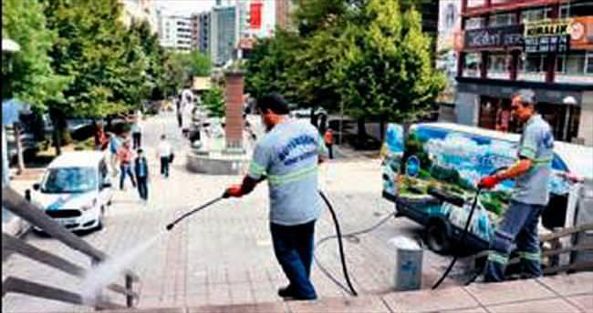 Başkentte bayram öncesi temizlik