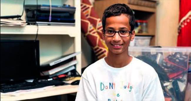 Saati bomba sanılan Ahmed okul değiştirdi