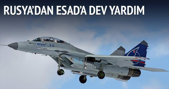 Rusya'dan Esad'a 28 savaş uçağı