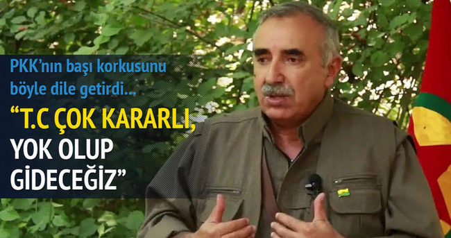 Murat Karayılan: TC çok kararlı görünüyor!