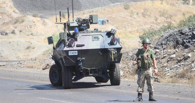 Cizre'ye 200 araçlık askeri sevkiyat