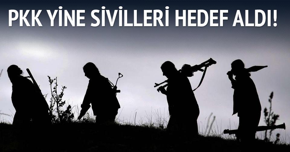 Mardin'de PKK'lı teröristlerden saldırı: 1 ölü