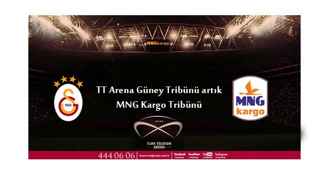 TT Arena Güney Tribünü, MNG Kargo tribünü oldu!