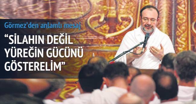 'Müslümanlar ağır bir imtihandan geçmekte'
