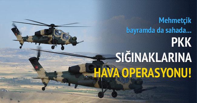 Şırnak'ta PKK'ya yönelik hava operasyonu düzenlendi!