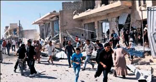 Suriye rejimi parkı vurdu 15 sivil öldü
